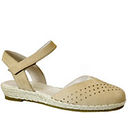 David Tate Leather Espadrille Sandals - Canyon - A357690