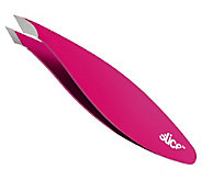 Slice Tweezer w/ Combo Slanted & Pointed Tip, Soft-Touch Grip - A359790