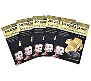 Azure Cotton Sheet Face Mask 5-Pack - A423590