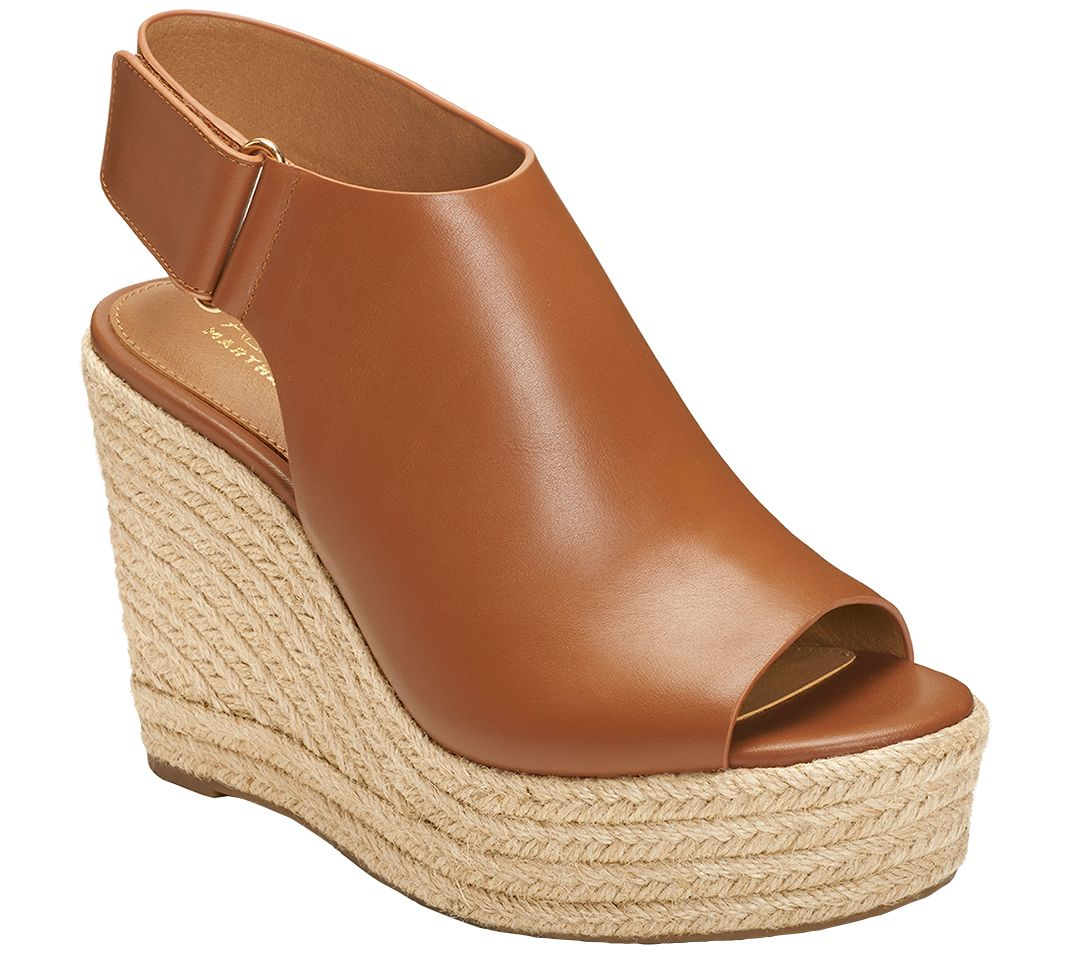 203ec5cca3cf Aerosoles x Martha Stewart Wedge Sandals- Hillside - Page 1 — QVC.com