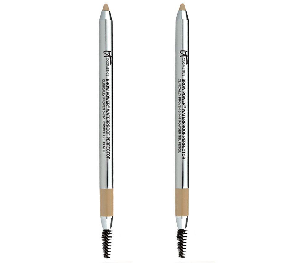 It Cosmetics Brow Power Auto Perfector 5 In 1 Powder Gel Pencil Duo