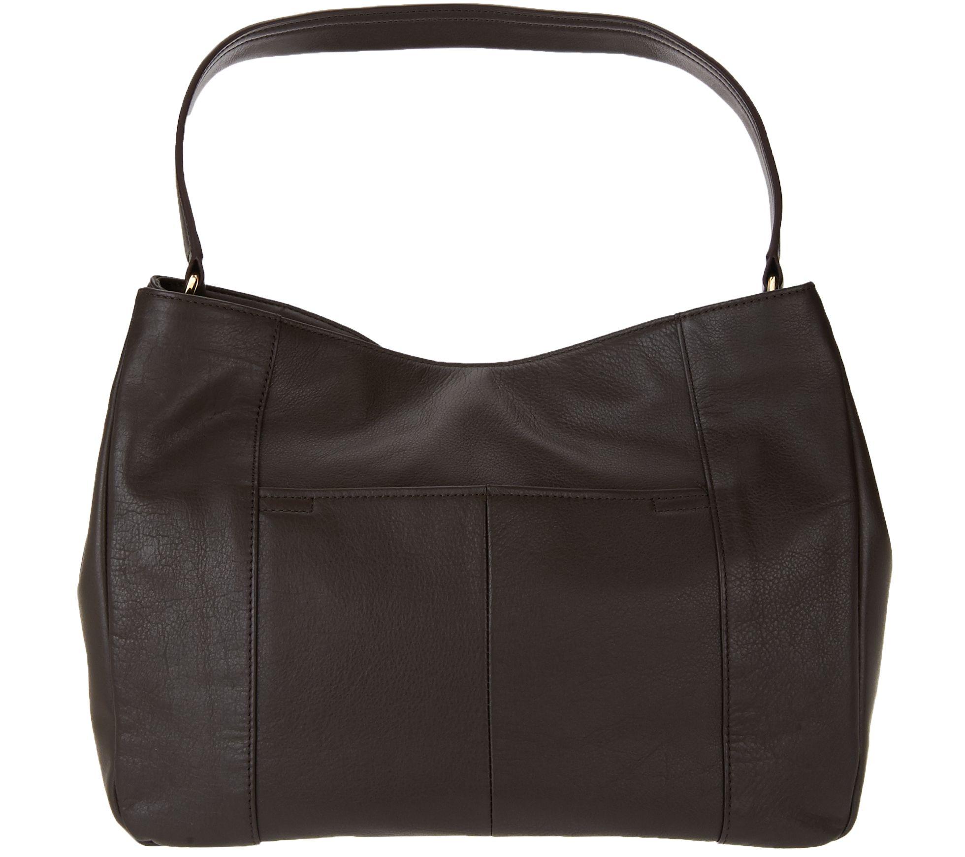 b339110ac3 Tignanello Glove Leather Large Hobo Bag - Page 1 — QVC.com