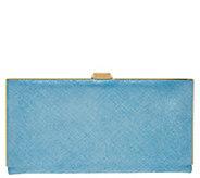 LODIS Italian Leather Frame Clutch w/ RFID - Quinn - A277891