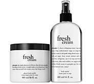 philosophy super-size body souffle & body spritz set Auto-Delivery - A285991