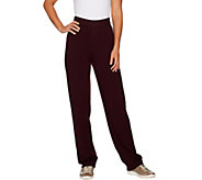 Linea by Louis DellOlio Regular Whisper Knit Pull On Pants - A295891