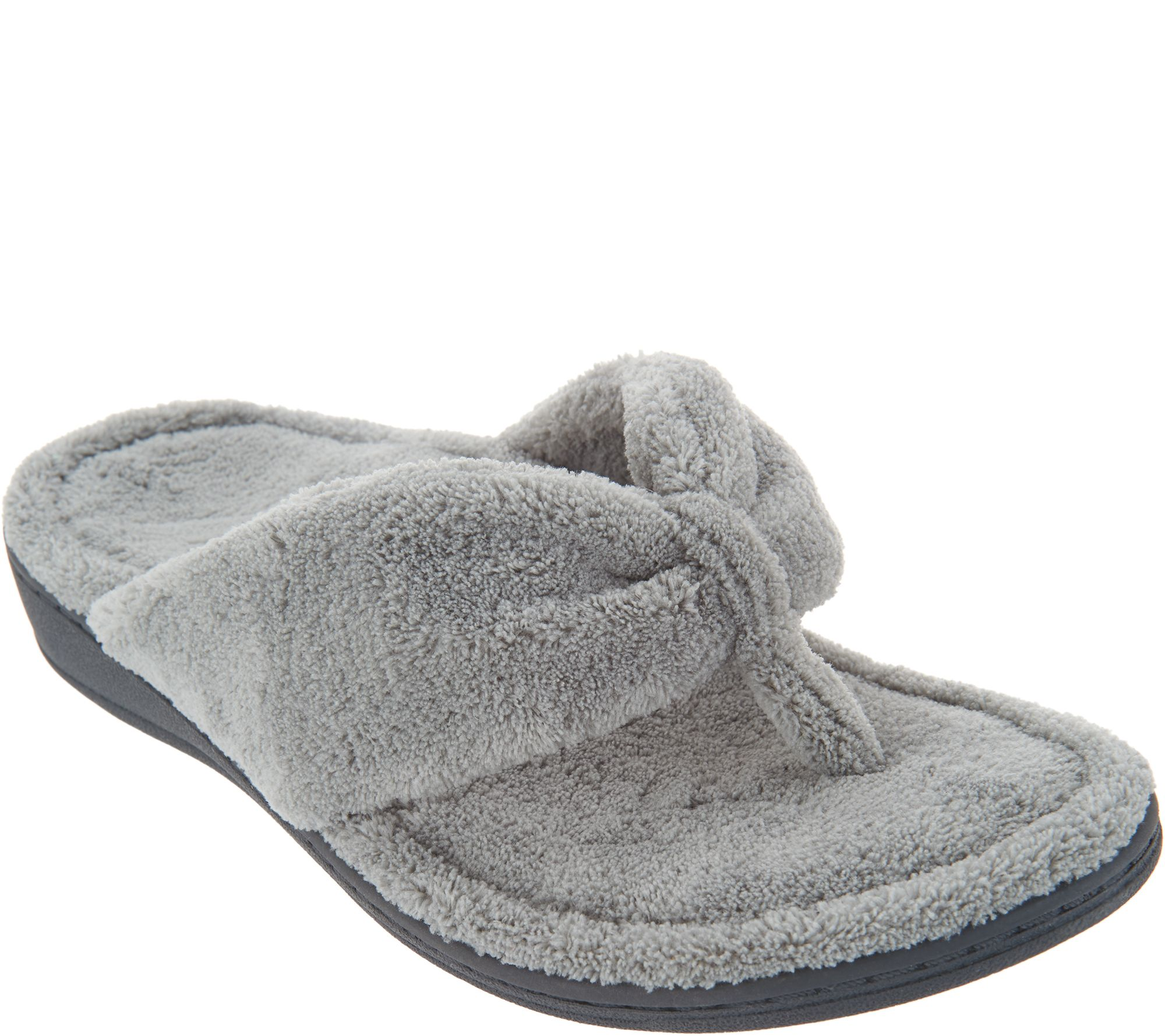 Vionic Terry Thong Slippers - Gracie outlet geniue stockist clearance best place ODeU3dIU6r