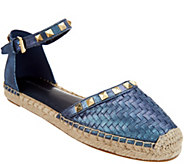 Marc Fisher Woven Ankle Strap Espadrilles - Graze - A305391