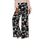 Vince Camuto Floral Gardens Wide-Leg Woven Pants - A306691