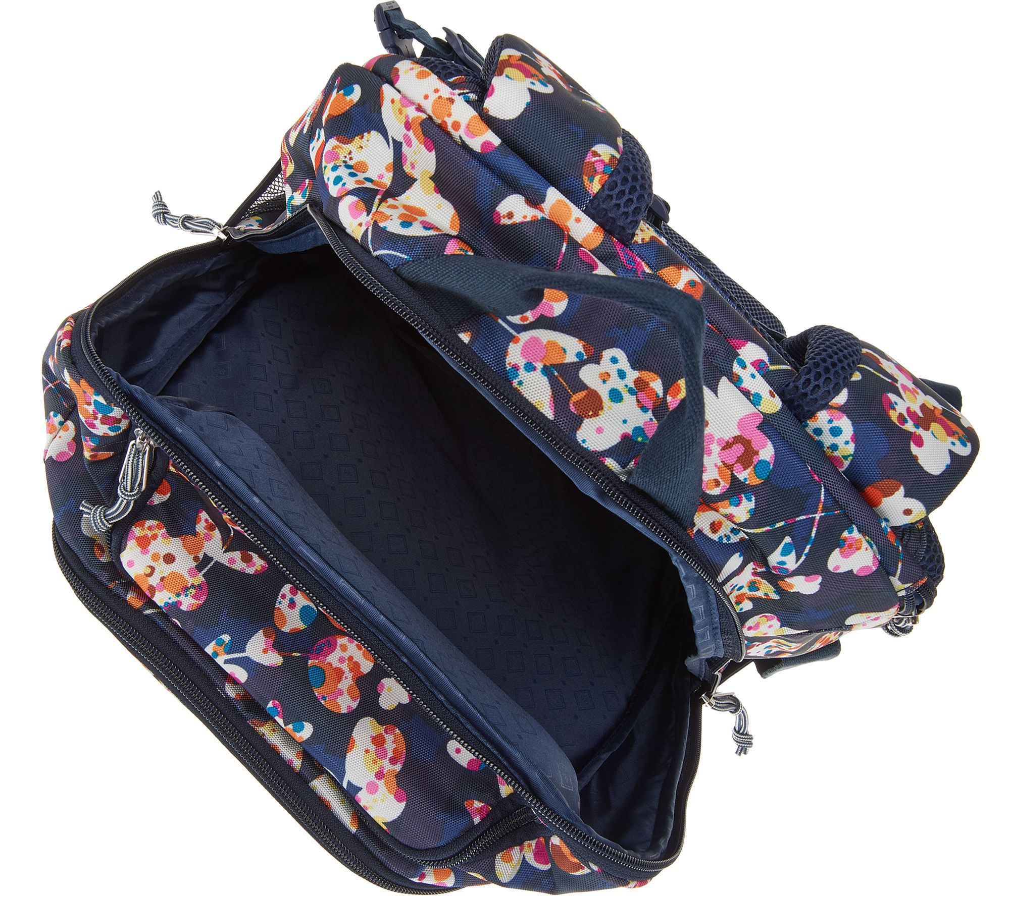 Vera Bradley Journey Lighten Up Travel Backpack - Page 1 — QVC.com 85432f742cf25