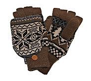 MUK LUKS Traditional Nordic Flip Glove for Men - A320491