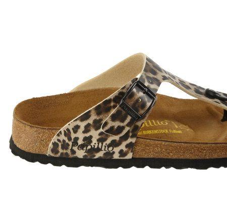 Leopard print birkenstocks
