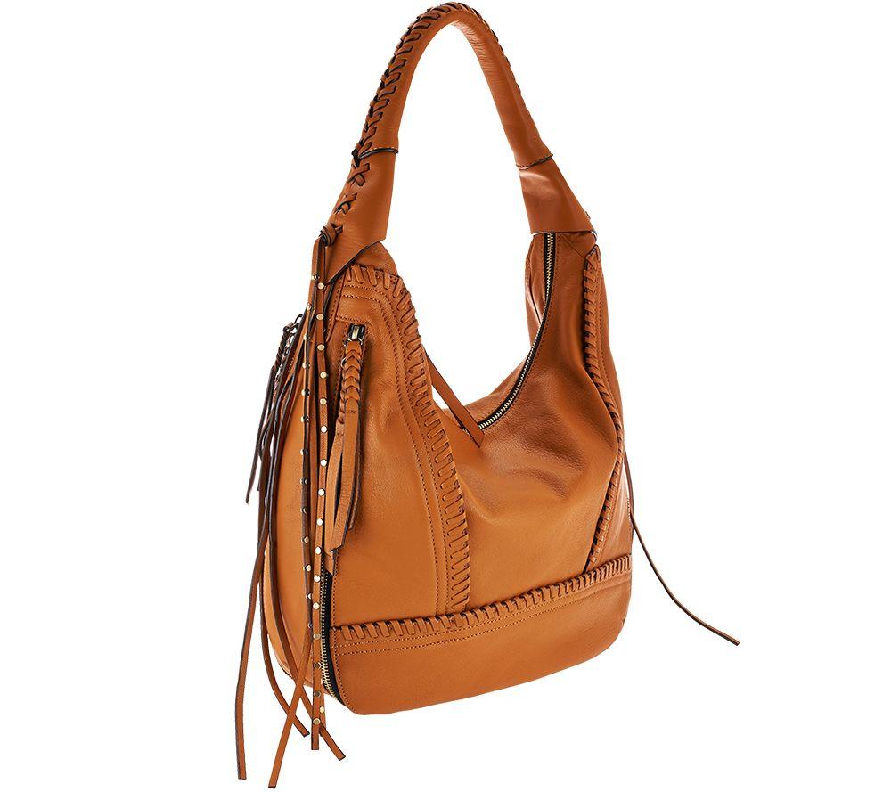02133ec94f orYANY Soft Nappa Leather Hobo - Michelle - Page 1 — QVC.com