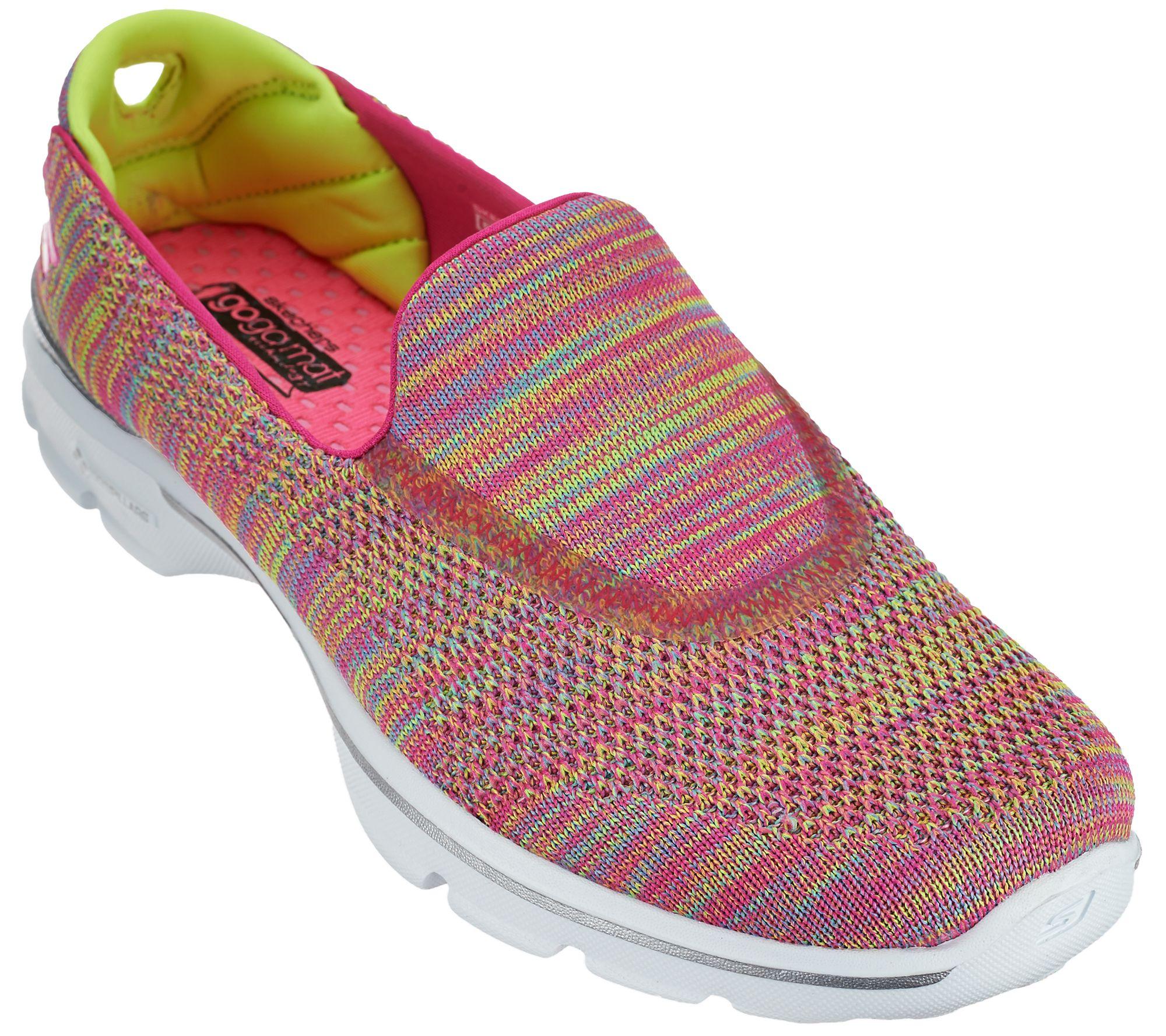 e98a618a0eff Skechers Gowalk 3 Fitknit Slip-on Sneakers - Tilt - Page 1 — QVC.com