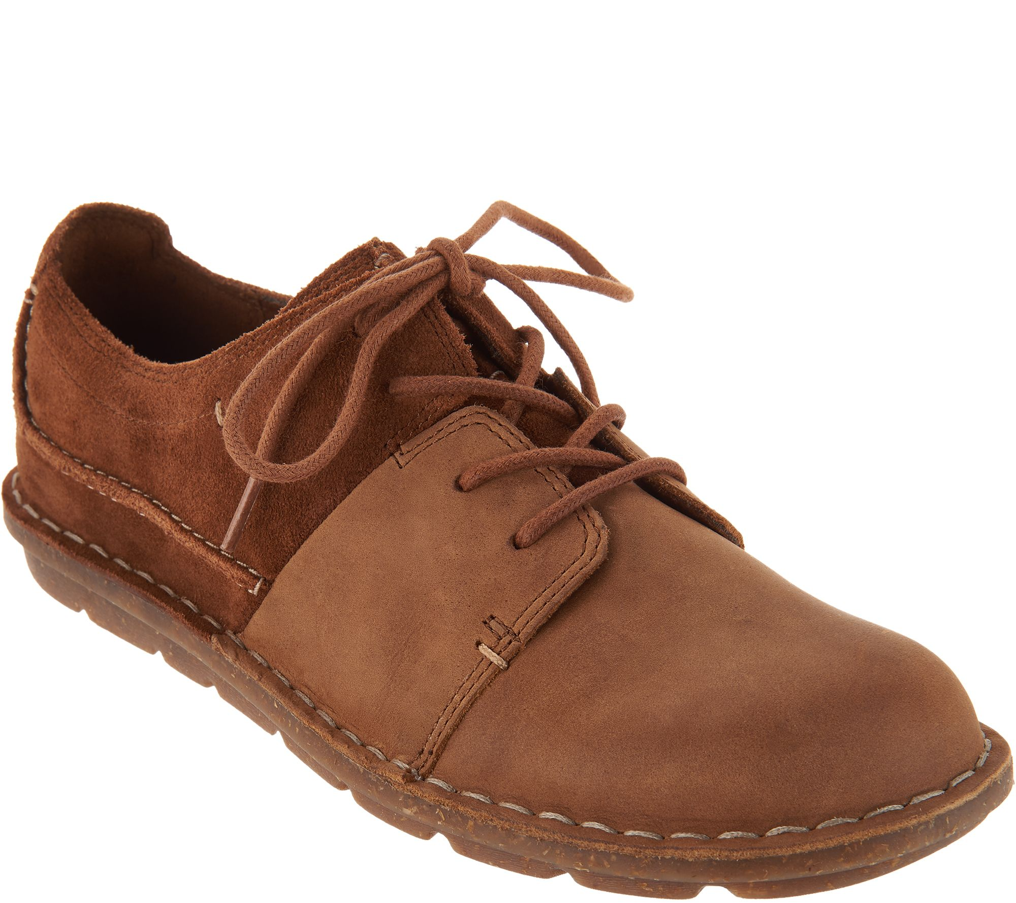 ad307cd2a4e1 Clarks Leather Lace-up Shoes - Tamitha Daisy - Page 1 — QVC.com