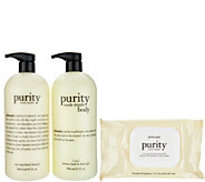 philosophy purity made simple face and body trio Auto-Delivery - A302092