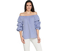 Laurie Felt Puff Sleeve Top - A305692