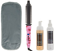 Calista Perfecter Pro Grip Styler w/ Spray & Foam Auto-Delivery - A344492