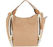 As Is orYany Lamb Leather Tote Handbag- Lauren - A347592