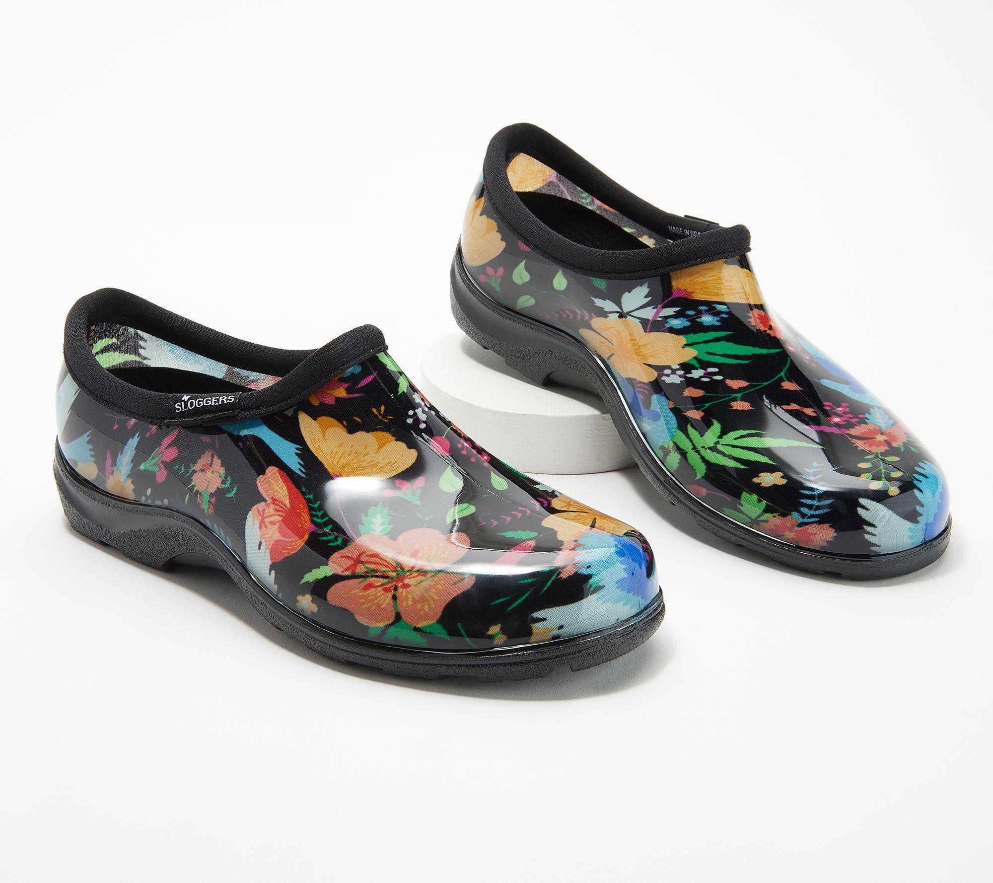 e1ad2f342d46 Sloggers Waterproof Peaceful Garden Comfort Garden Shoe - Page 1 — QVC.com