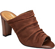 Aerosoles Heel Rest Leather Mules - Open Road - A360392
