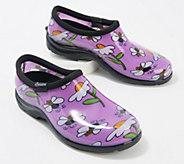 Sloggers Bee Happy Waterproof Garden Shoe w/ Comfort Insoles - A374392