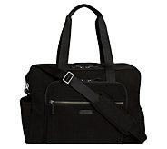 Vera Bradley Microfiber Iconic Deluxe WeekenderTravel Bag - A415092
