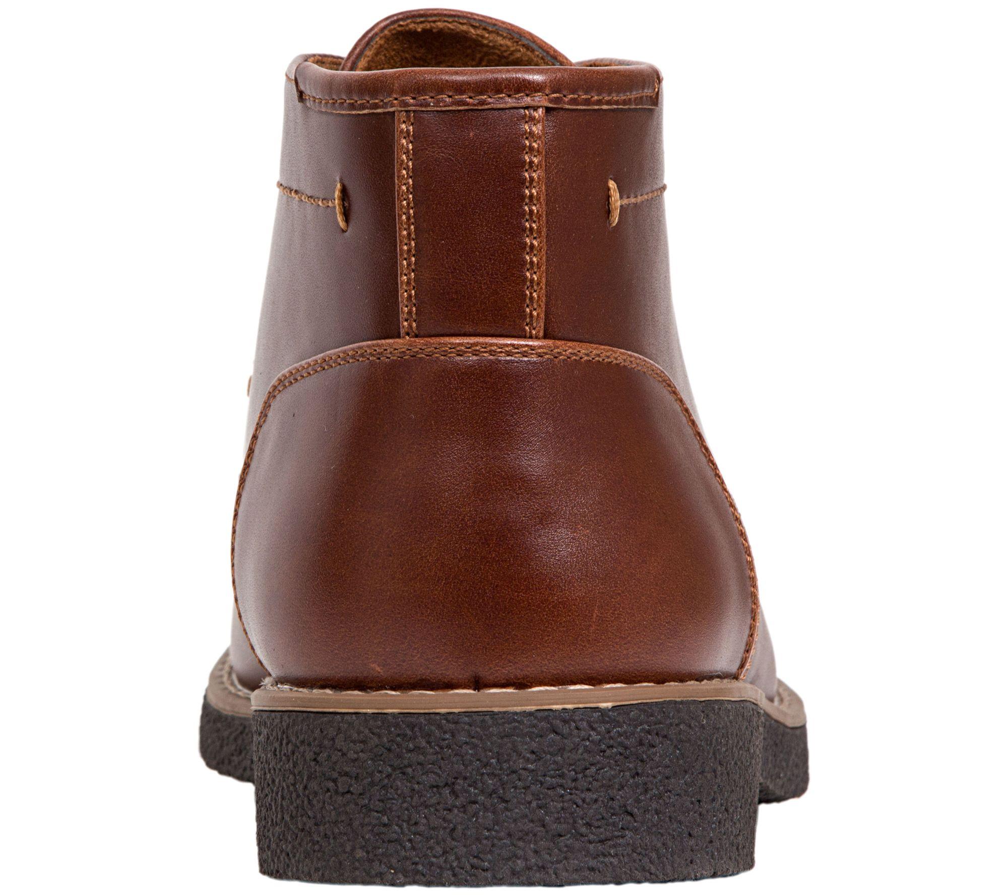 Deer Stags Mens Bangor Memory Foam Dress Casual Comfort Chukka Boot