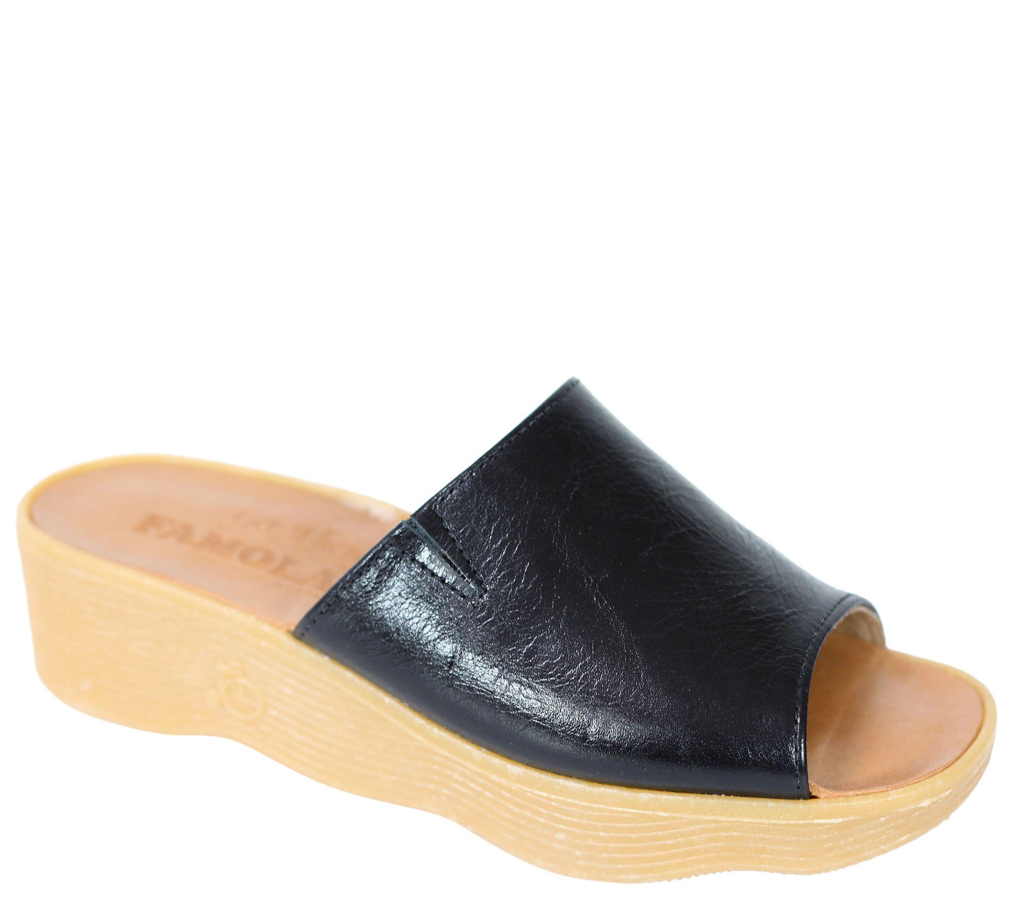 Leather Sliden Famolare Seek There Sandal Get Wedge jqLSzMGVpU