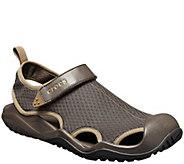 Crocs Mens Swiftwater Mesh Deck Sandals - A423492