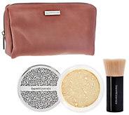 bareMinerals Deluxe Original Foundation & Brush Duo Plus Bag - A273693
