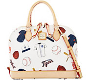 Dooney & Bourke MLB Tigers Zip Zip Satchel - A280093