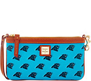 Dooney & Bourke NFL Panthers Large Slim Wristlet - A285793