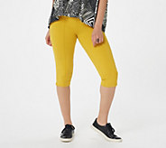 Women with Control Regular Tummy Control Pedal Pushers - A288793