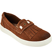 Earth Origins Suede Slip-on Shoes - Mabel - A296193