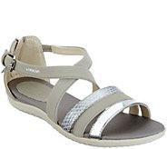 GEOX Cross-Strap Sandals - Vega - A305293