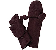 Nirvanna Designs Solid Handwarmers with Flap and Fleece - A331093