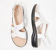 Clarks Collection Backstrap Sandals - Leisa Joy - A350393