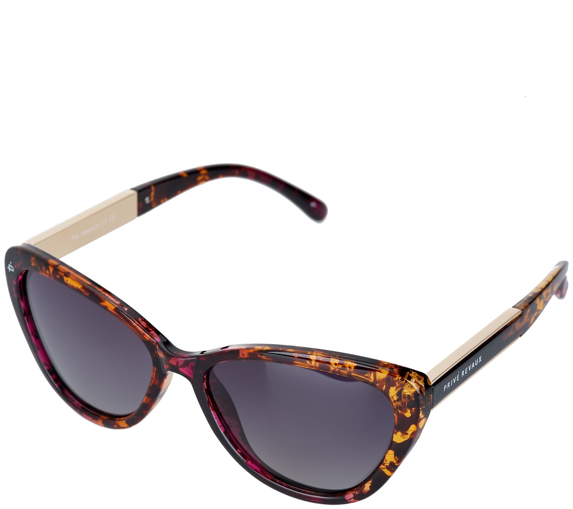 177d816ad724 Prive Revaux The Hepburn 2.0 Cat-Eye Polarized Sunglasses - Page 1 — QVC.com
