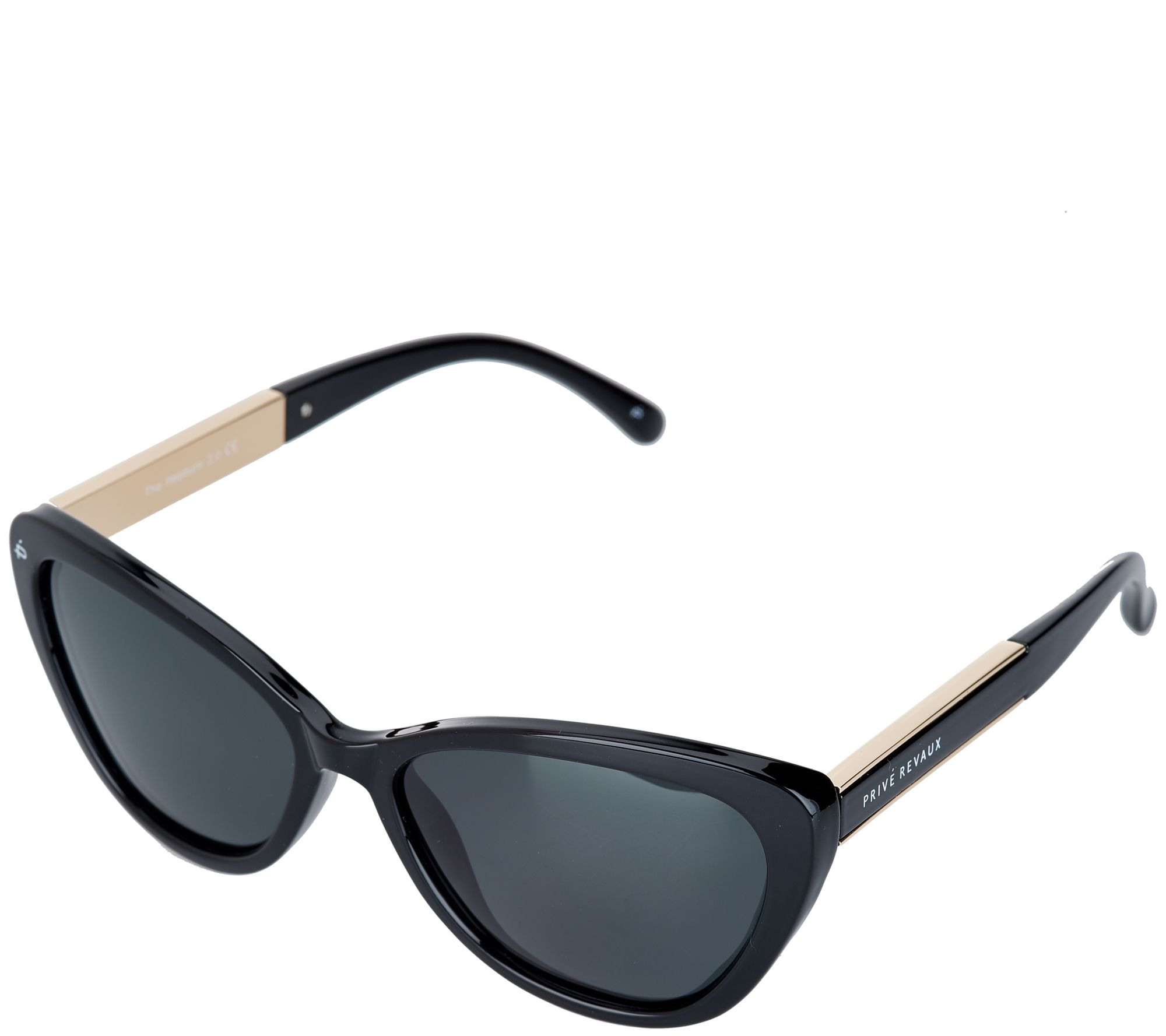 8ba6cde20a Prive Revaux The Hepburn 2.0 Cat-Eye Polarized Sunglasses - Page 1 — QVC.com
