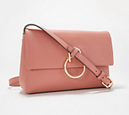 Vince Camuto Leather Small Crossbody - Plum - A352293