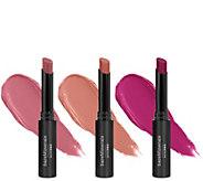 bareMinerals Peachy & Pink barePro Longwear Lipstick Trio - A352393