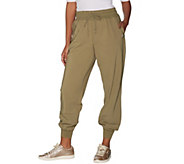 AnyBody Move Regular High Tech Stretch Jogger Pants - A306094