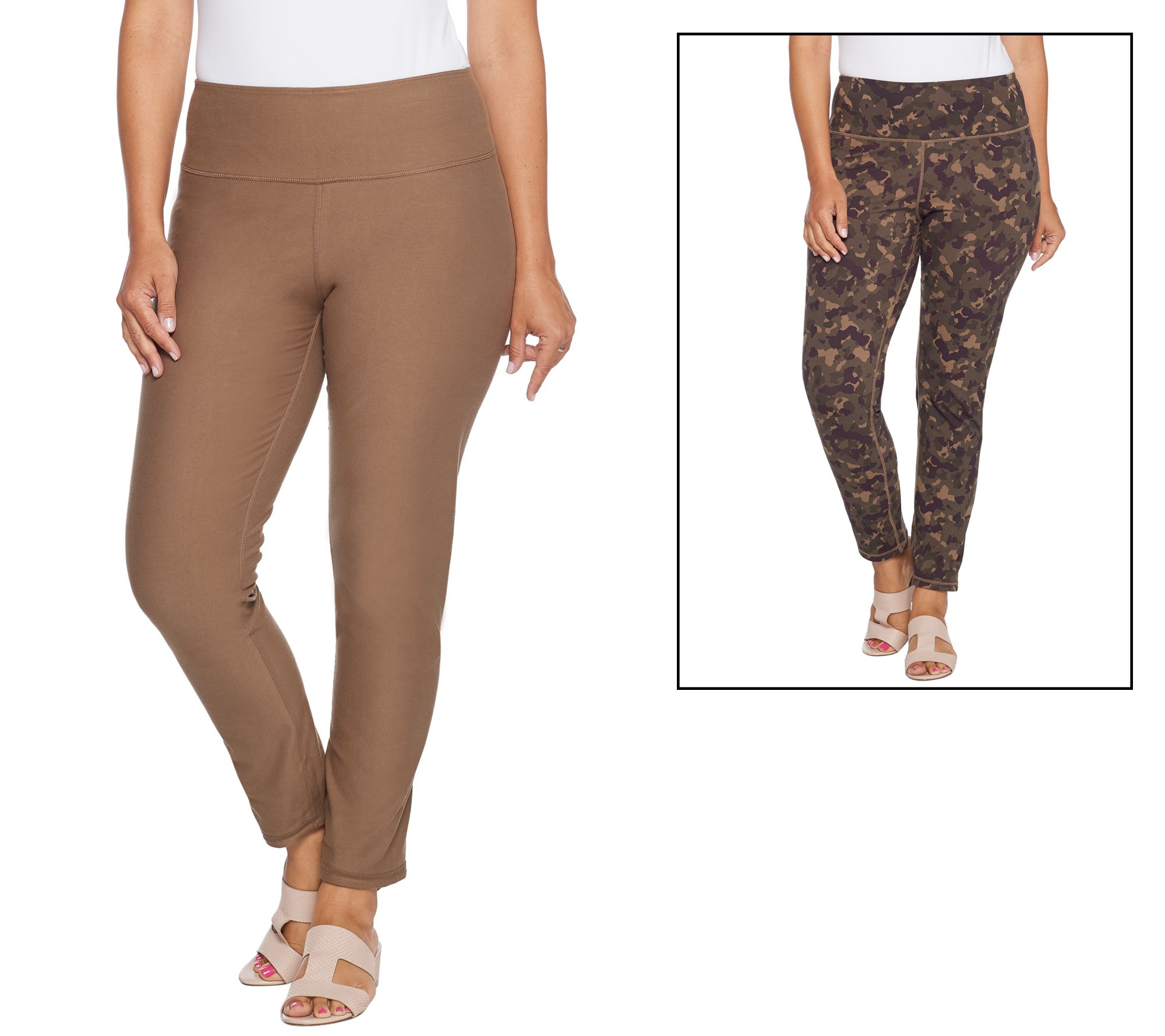 ef102357a Women with Control Regular Renee's Reversibles Ankle Pants - Page 1 —  QVC.com