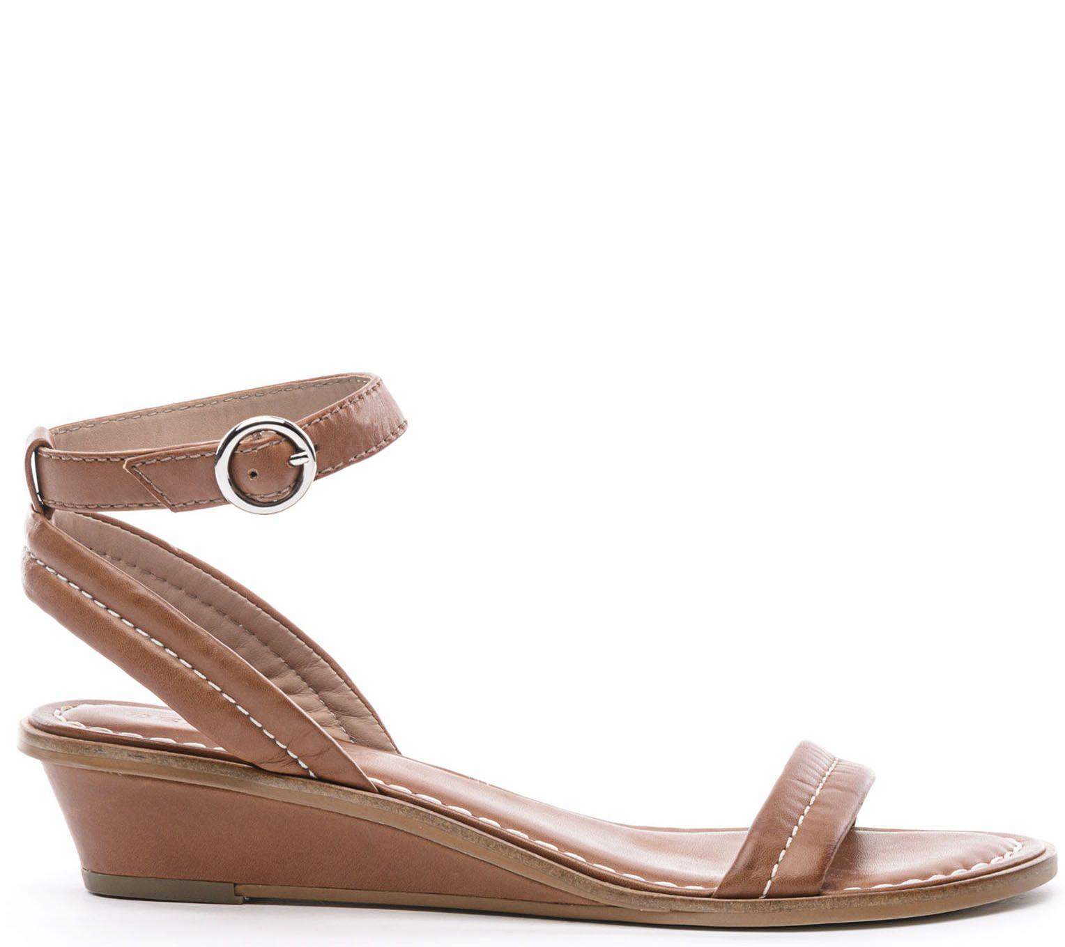 a57a06f9d1147 Bernardo Leather Sandals - Catherine — QVC.com