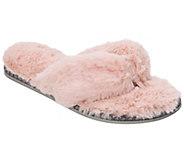 Dearfoams Pile Thong Slippers - A418194