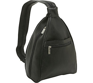 Le Donne Leather Women's Sling Backpack/Purse