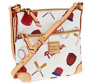Dooney & Bourke Coated Cotton MLB Letter Carrier - A261195