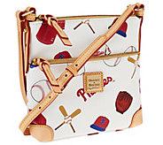 Dooney & Bourke Coated Cotton MLB Letter Carrier - A261195