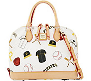 Dooney & Bourke MLB Pirates Zip Zip Satchel - A280095