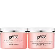 philosophy grace scrub & creme body treatment duo - A288595